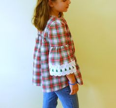 S is for Sewing | Blouse from Girls Style Book