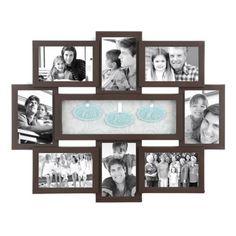 Faith Hope Love Shadowbox Brown Collage Frame   Kirklands