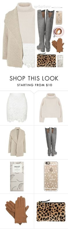 """""""Untitled #402"""" by ino-6283 ❤ liked on Polyvore featuring James Perse, Sam Edelman, Casetify, Isotoner, Martha Stewart and Clare V."""
