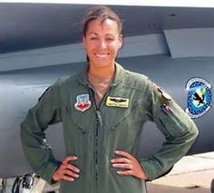 """U.S. Air Force Captain Christina """"Thumper"""" Hopper is the first and only black female F-16 Fighting Falcon instructor pilot at Luke Air Force Base in Arizona. She's also the first black female F-16 pilot to fight in a major war. http://1502983.talkfusion.com/es/"""