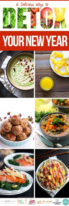 6 Delicious Ways to Detox Your New Year #wholefoodies