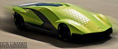 Lamborghini Thesis by Alexandar Alexiev, via Behance