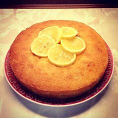 Sticky Lemon Drizzle Cake