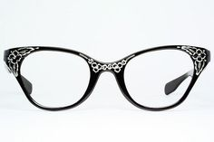 Etched Cat Eye Glasses by Tura | Sold | Ms. Shore | Flickr