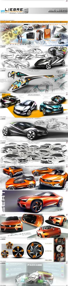 Rafael Corazza - SEAT LIEBRE Off-Roadster. Masters Thesis Project. https://www.behance.net/rafaelcorazza
