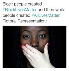 I will not take part in silencing Black people or ignoring what is happening to them. #BlackLivesMatter