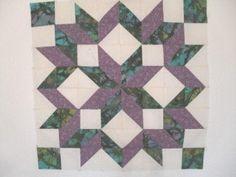 Carpenters wheel quilt block pattern and tutorial