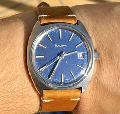 BULOVA vintage CAL 11AOCD 17 jewels Watch Deals, Quality Watches, Bulova, Cool Watches, Omega Watch, Unisex, Jewels, Ebay, Accessories