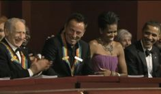 Bruce Springsteen & Mel Brooks, Michelle Obama and President Obama
