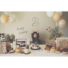 1 Year Old Birthday Party, 1st Birthday Photoshoot, 2nd Birthday Party Themes, Boy Birthday Parties, Baby Birthday, Diy 1st Birthday Decorations, Safari Decorations, Simple First Birthday, 1st Birthdays