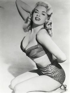 Jayne Mansfield ~ As Pin Up ~  J.Mansfield is Mother to Mariska Hargitay of  Law & Order: Special Victims Unit.