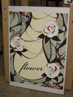 Aomori, Appreciation, Illustration Art, Frame, Flowers, Pattern, Painting, Design, Picture Frame