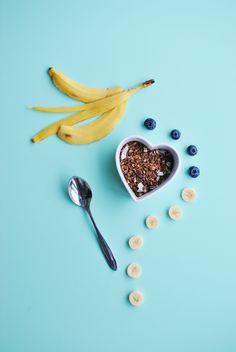 banana granola