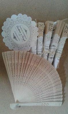 abanicos personalizados para xv, primera comunión, boda
