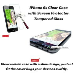 Get everything for your protection in one go. Grab clear and a matching with tempered glass at a very affordable price from our website. With satisfaction and money back guarantee shop with ease! Screen Guard, Iphone6, Mobile Cases, Slipcovers, Screen Protector, Perfect Fit, Iphone Cases, Apple, Money