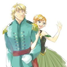 Probably kristoff's first day as prince. Getting used to all the Bowing and your highnesses