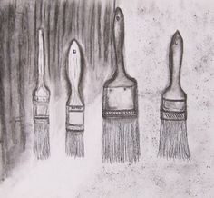 Jim Dine inspired drawing for beginners