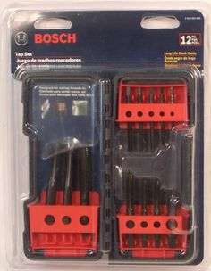 Bosch B44711 12 Piece Tap Set, ($30)