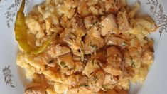 Cauliflower, Macaroni And Cheese, Meat, Chicken, Vegetables, Ethnic Recipes, Food, Mac And Cheese, Cauliflowers