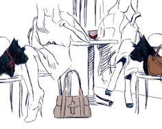 Radley Scotties | under the blanket