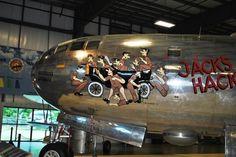 "B-29 Superfortress - ""Jack's Hack""."