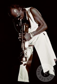 Miles Davis by Larry Busacca www.RockPaperPhoto.com