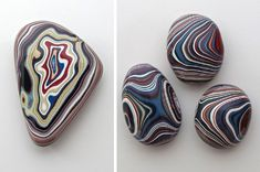 Beautiful Fordite Stones Created from Layers of Automotive Paint are a By Product of Old Car Factories