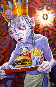 Dave MacDowell's Pop Culture Infused Lowbrow Art Paintings