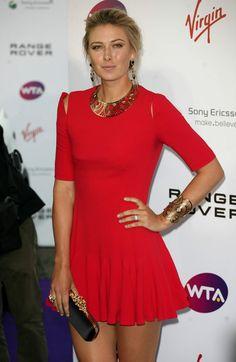 Maria Sharapova At Pre Wimbledon Party 2011 Poses  cakepins.com