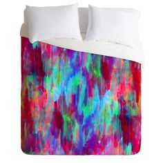 Amy Sia Moving Sunsets Duvet Cover | DENY Designs Home Accessories
