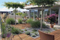 Terrasse von Kobel Gartengestaltung Gardening, Outdoor Decor, Home Decor, Vivarium, Landscaping, Garden, Plants, Swim, Patio