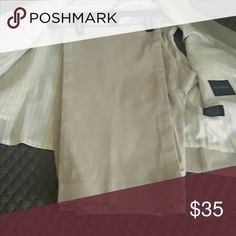 MENS Express khaki dress pants Producer fit.  52% cotton, 43% polyester 5% spandex 34/30 Express Pants Dress