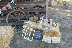 Photo props at a Farm Party #farm #partyphotos Country Birthday Party, Zoo Birthday, County Fair Birthday, Birthday Parties, Cowgirl Birthday, Birthday Ideas, Farm Animal Party, Barnyard Party, Farm Party
