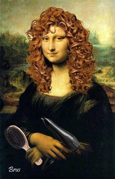 Mona Lisa hair careFosterginger.Pinterest.ComMore Pins Like This One At FOSTERGINGER @ PINTEREST No Pin Limitsでこのようなピンがいっぱいになるピンの限界