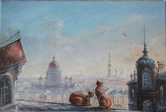 Saint Petersburg by Yuri Stepanov_Юрий Степанов. Звери в городе