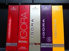 #Priceabate 50 x SCHWARZKOPF IGORA ROYAL HAIR COLOR ( BIG SELL) - Buy This Item Now For Only: $437.99