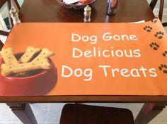 Dog Gone Delicious Dog Treats llc!  <3