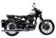 Royal Enfield Bullet 500 Classic studio side view