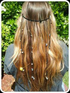 Hippie gypsy headbands www.shelbylovebug.etsy.com