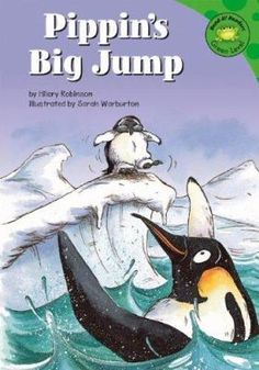 Pippin the penguin is afraid of jumping into the sea, but his mother helps him find some courage.