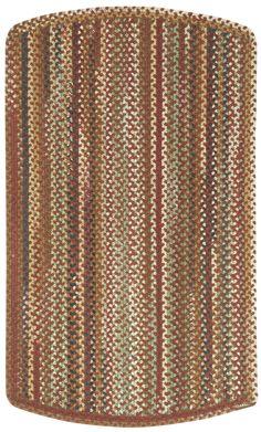 Bangor Tailored Braided Cinnamon Area Rug