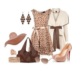 Blush and Brown - Polyvore