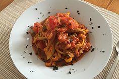 Zucchini - Spaghetti (Rezept mit Bild) von JuliSp | Chefkoch.de