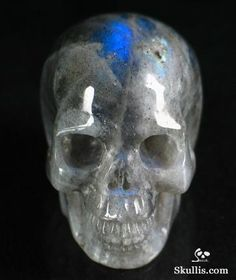 Moonstone Crystal Skull