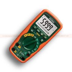 http://handinstrument.se/multimeter-r742/talig-industriell-multimeter-53-EX520-r774  Tålig Industriell multimeter  Sann RMS DMM med 11 funktioner och 0,09% grundläggande noggrannhet  AC / DC spänning och ström, resistans, kapacitans, frekvens, temperatur, Duty Cycle, diod / kontinuitet  Dubbel känslighet frekvens funktioner (elektriska / elektroniska)  1000V ingång skydd på alla funktioner  20A max ström  MIN / MAX, Data-Freeze, relativ mätning, auto Power-Off  6000 punkter stor...