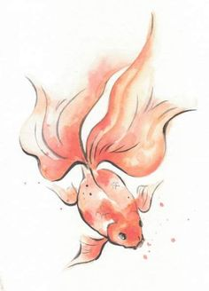 Ink Drawing Learn Japanese Ink Painting (Sumi-e) Fish Drawings, Art Drawings Sketches, Animal Drawings, Cool Drawings, Koi Fish Drawing, Tattoo Drawings, Japanese Ink Painting, Japanese Art, Chinese Painting