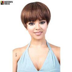 Motown Tress Go Girl Human Hair Full Wig - GGH - DAVY