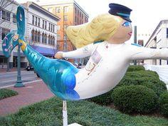 Miss Definitely Downtown  Mermaid 3 by suelee14, via Flickr