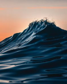 "ohsurfyo: ""Just the tip (at The Water Guy) "" Waves Photography, Nature Photography, Water Aesthetic, Ocean Wallpaper, Ocean Waves, Ocean Sunset, Aesthetic Backgrounds, Canvas Art Prints, Surfing"