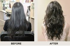 Beach Wave Perm Before And After Photos And Guide – – frisuren - Perm Hair Styles Loose Wave Perm, Beach Wave Perm, Beach Waves, Loose Curls, Redhead Hairstyles, Permed Hairstyles, Korean Hairstyles, Beach Hairstyles, Wedding Hairstyles